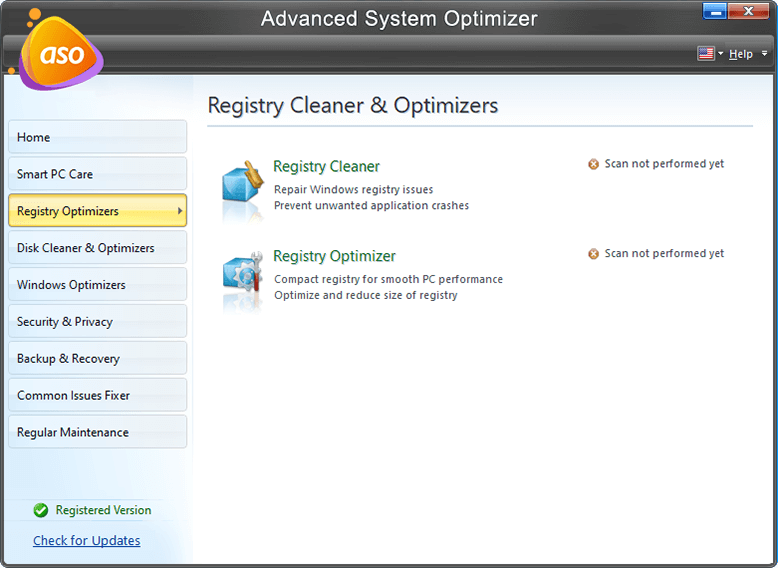 Advanced System optimizer - Security and Privacy