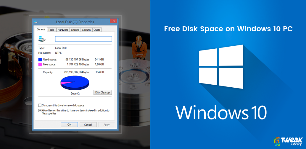 How to Free Disk Space on Windows 10 PC