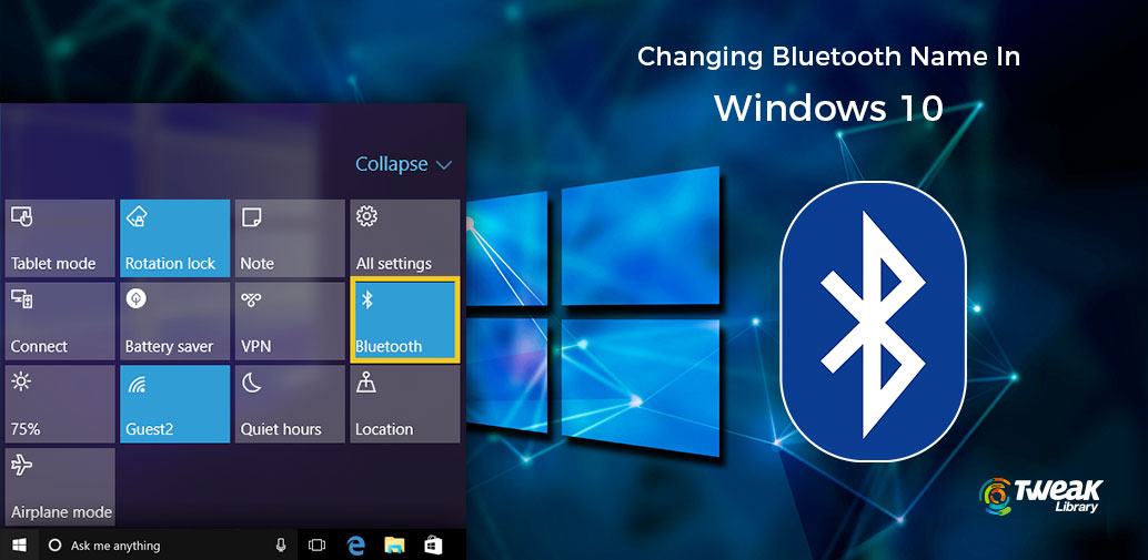 change Bluetooth name in windows 10