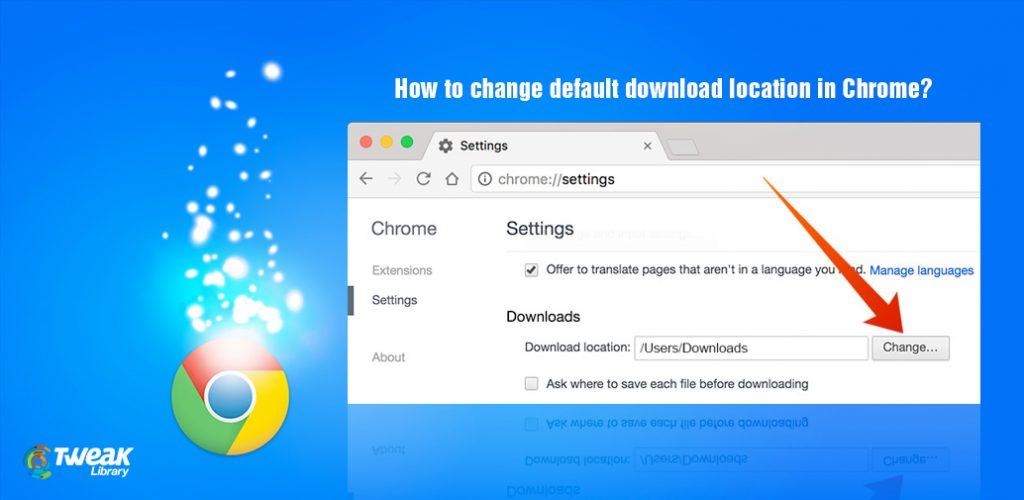 default program to download files