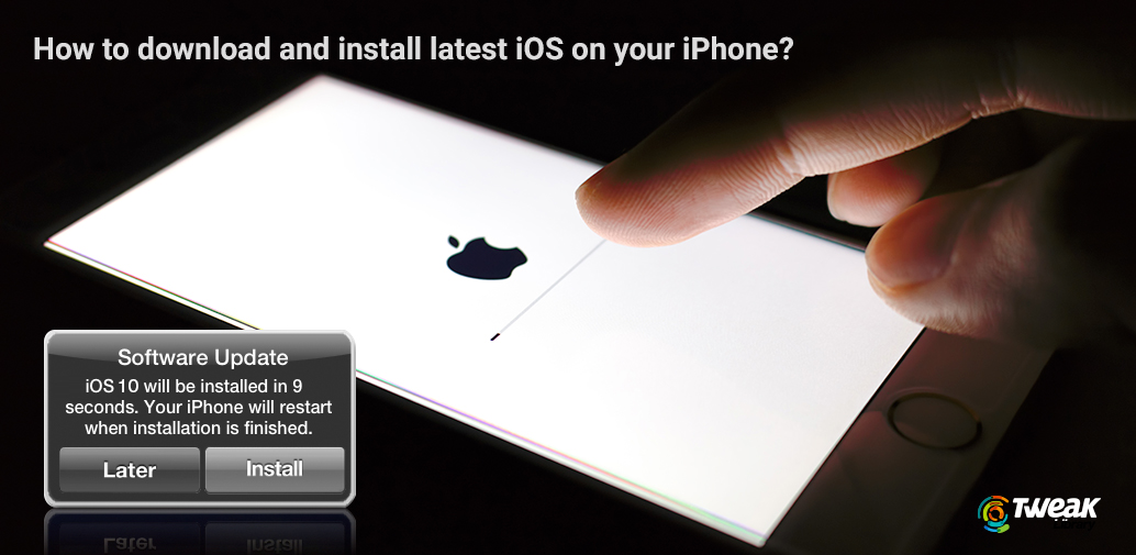 Update Your iPhone, iPad or iPod Software:
