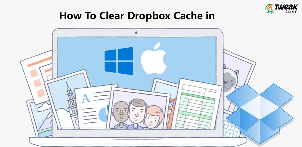 Delete DropBox Cache