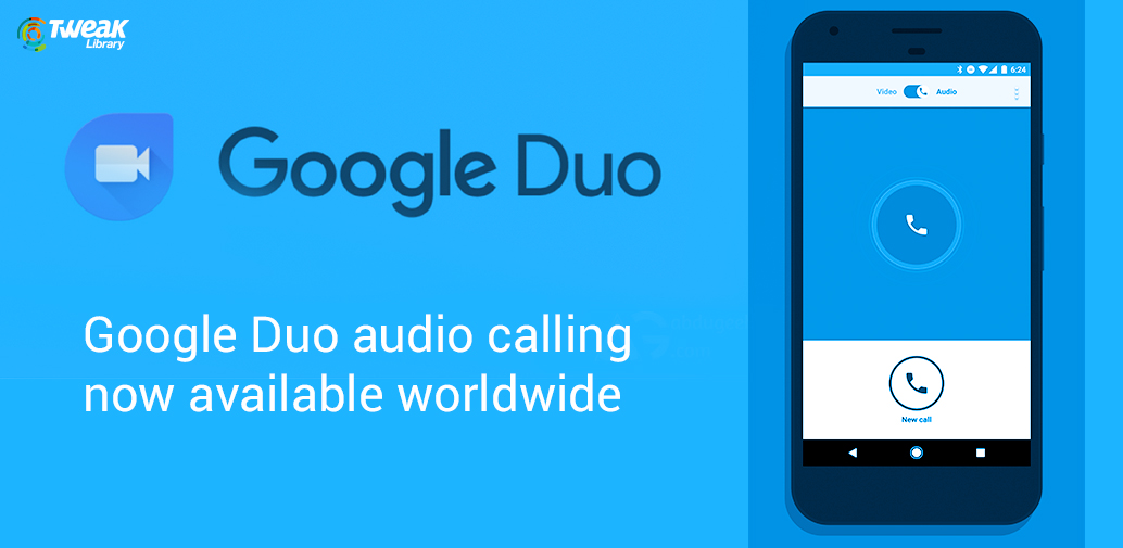 Google Duo audio calling available worldwide
