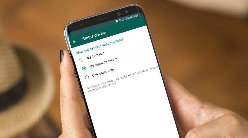 How to Show or Hide WhatsApp Status from Specific Contacts