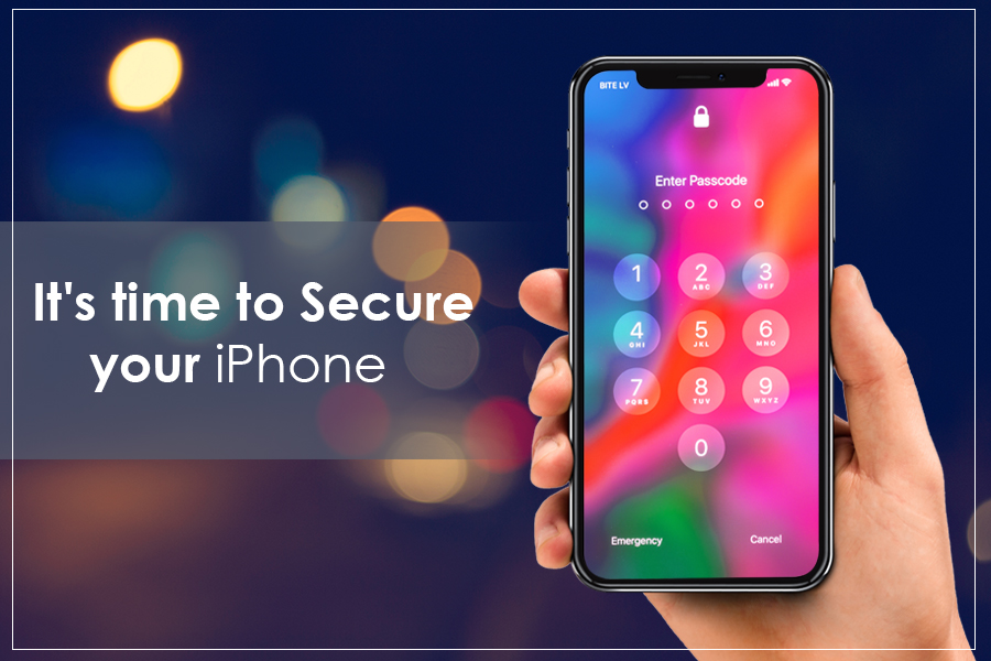It's time to Secure your iPhon