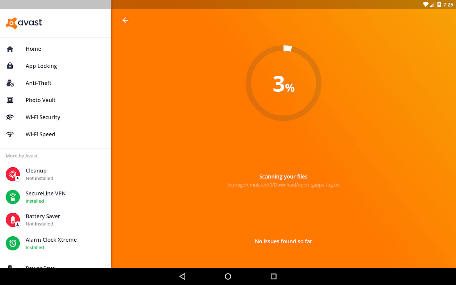 avast antivirus for android free scan for malware