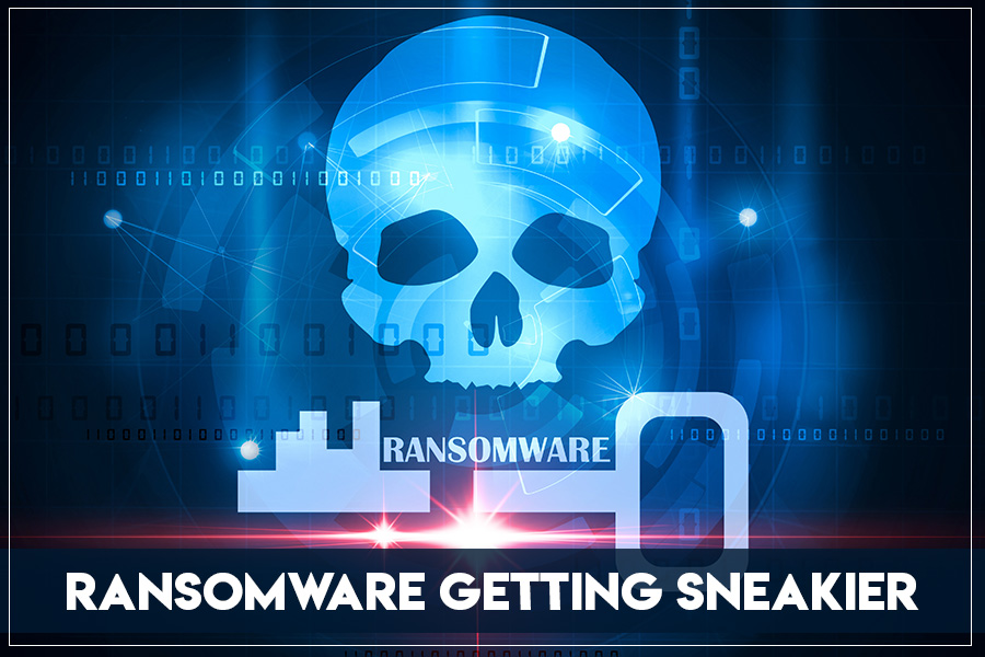 Ransomware Getting Trickier