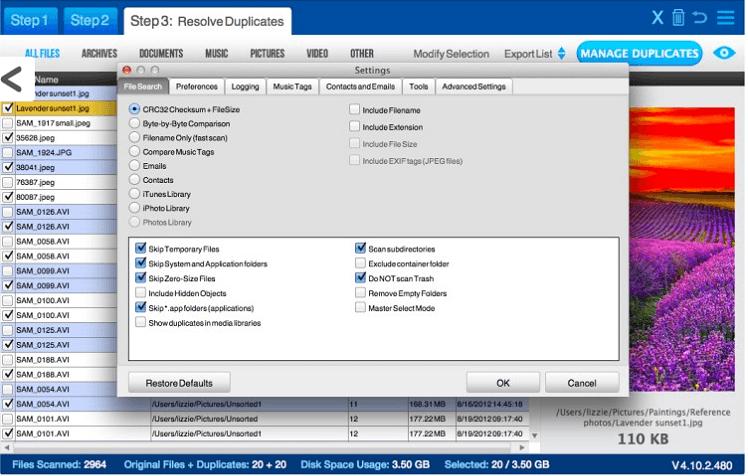 easy-duplicate-file-finder