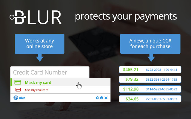 Blur - Protect your passwords, payments, and personal information