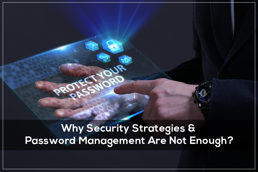 Why Security Strategies & Password Management Are Not Enough
