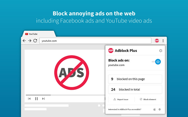 adblock plus security chrome extension