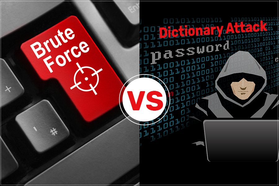 Difference Between Brute Force & Dictionary Attack