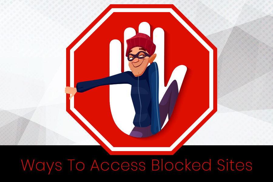 ways to access bloacked websites