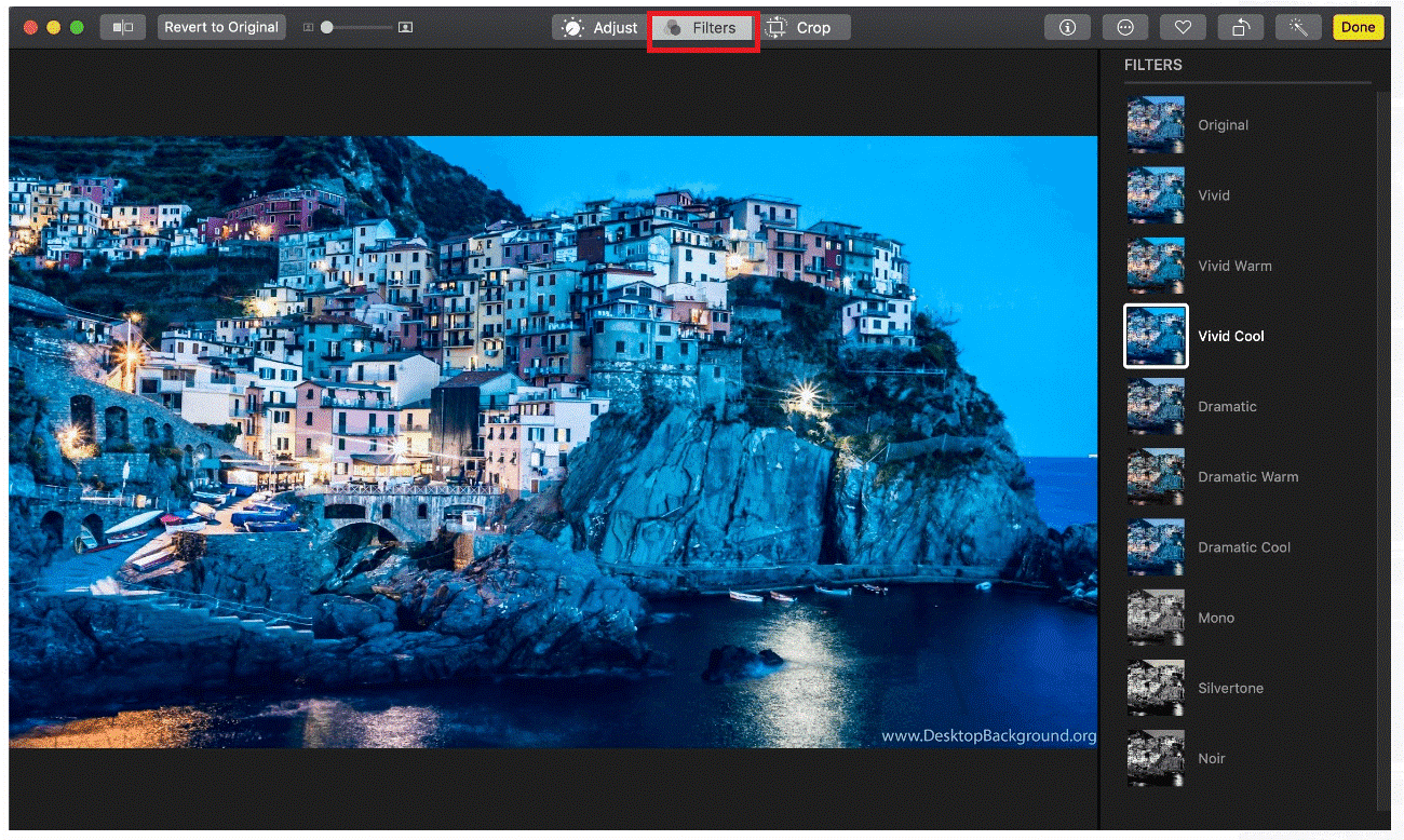 Add Filters to Your Images on Mac - Tweaklibrary