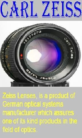 Carl Zeiss lenses - Nokia 9