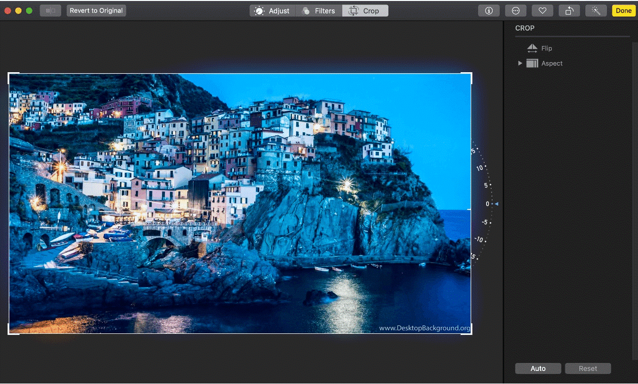 Crop Photos Manually on Mac - Tweaklibrary