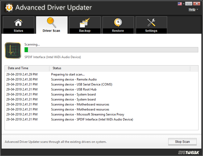 Download and install Advanced Driver Updater