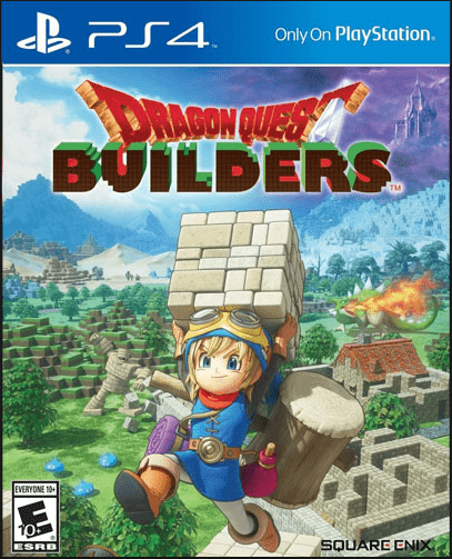 Dragons Quest Builders Game to play on PS4