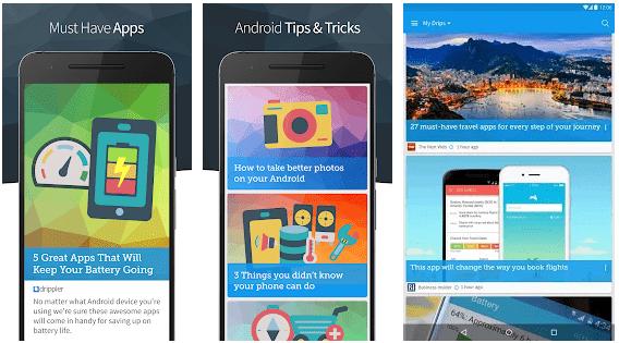 Drippler - tech news apps