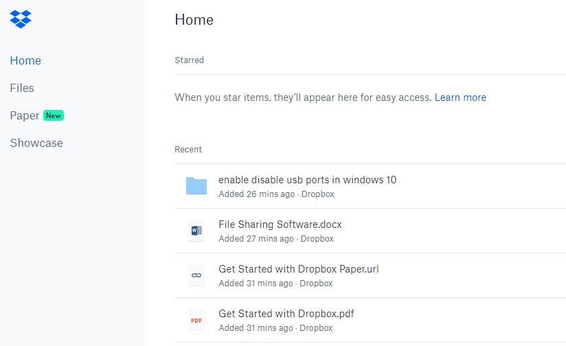 Dropbox - Best File Sharing Tools