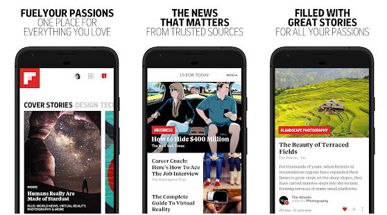 Flipboard - tech news App