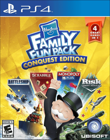 Hasbro Family Fun Pack Game to play on PS4
