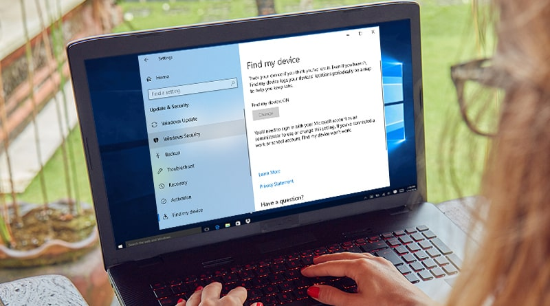 How to Setup Find My Device in Windows 10 - Tweaklibrary