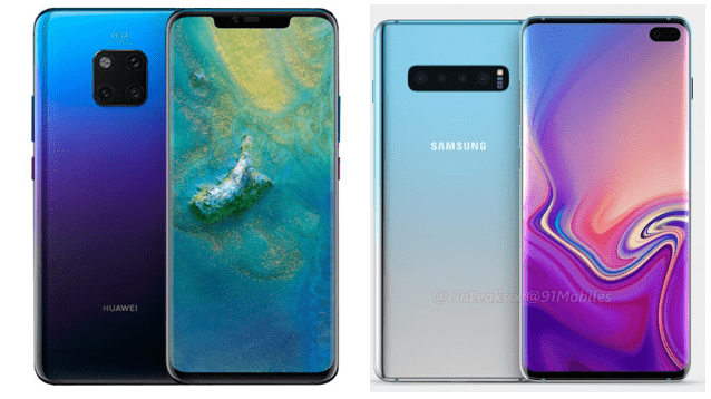 Huawai And Samsung Devices