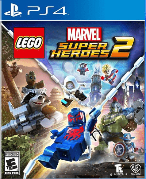 LEGO Marvel Super Heroes 2 Game for kids to play on PS4