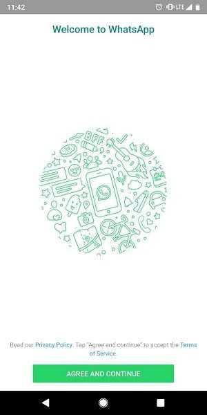 Launch Whatsapp Login Screen