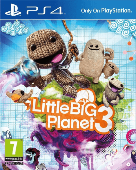 Little Big Planet 3 Game for Kids