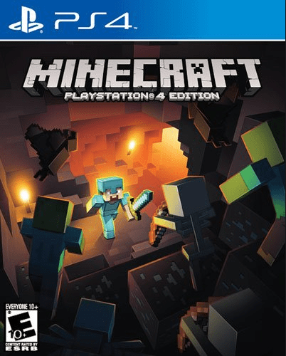 Minecraft Game for kids on PS4