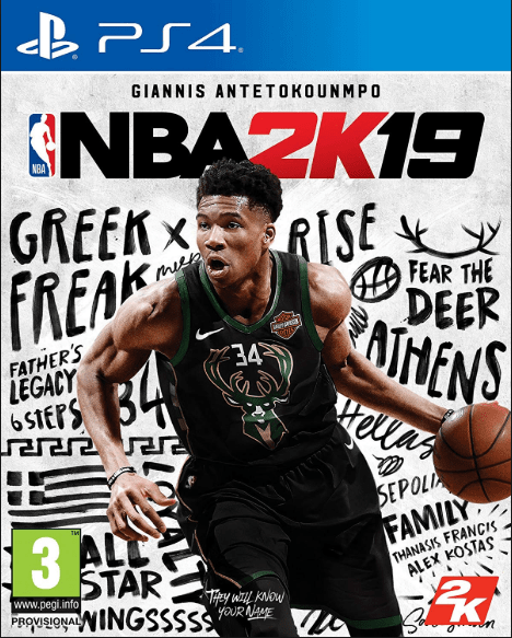 NBA 2K19 Game to play on PS4