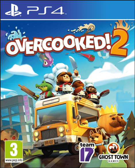 Overcooked 2 Game to Play on PS4