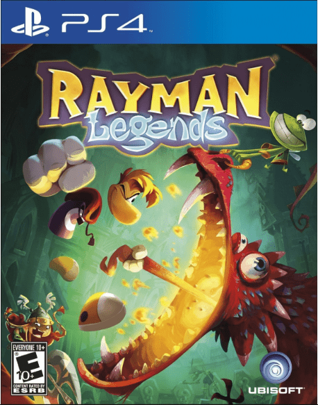 Rayman Legends Game to play on PS4