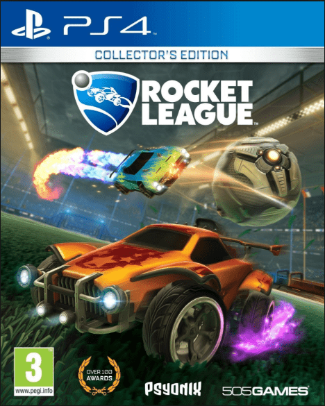 Rocket League Collectors Edition Game to play on PS4