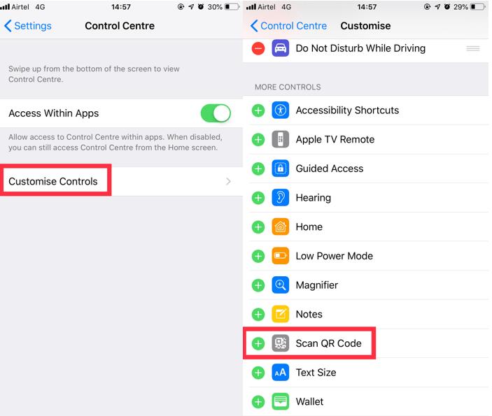 Scan QR Code in iOS