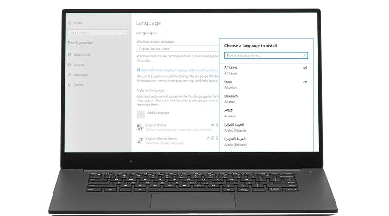 System Display Language In Windows 10 - Tweaklibrary