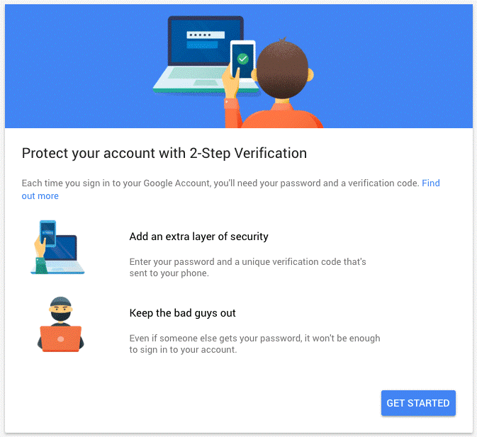 Two Step Authentication on Gmail - Tweaklibrary