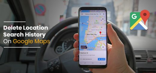 delete your location search history from Google Maps - Tweaklibrary