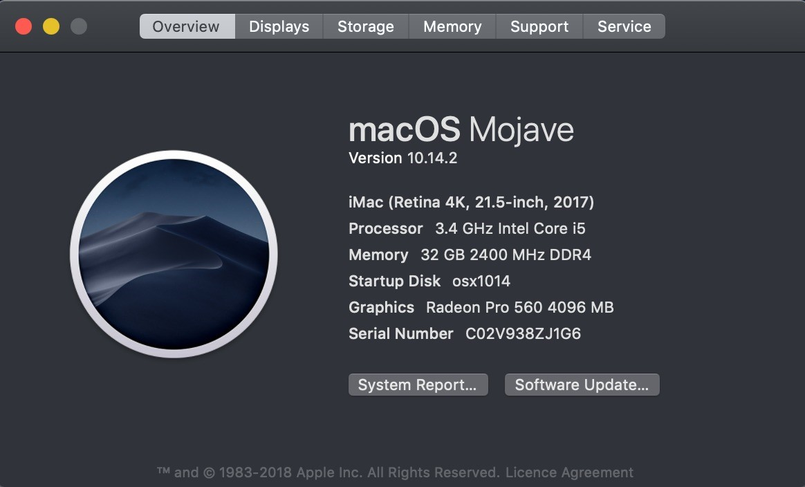 mac os overview