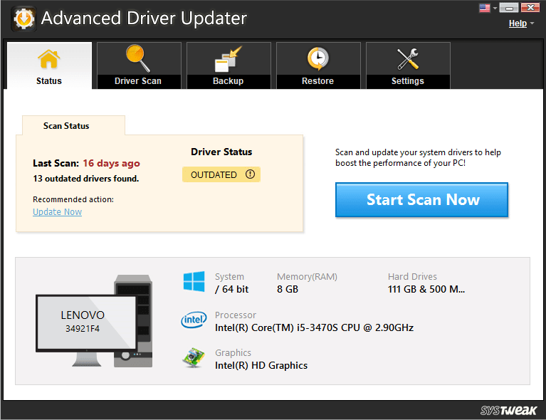 Advanced Driver Updater for Slow Browser