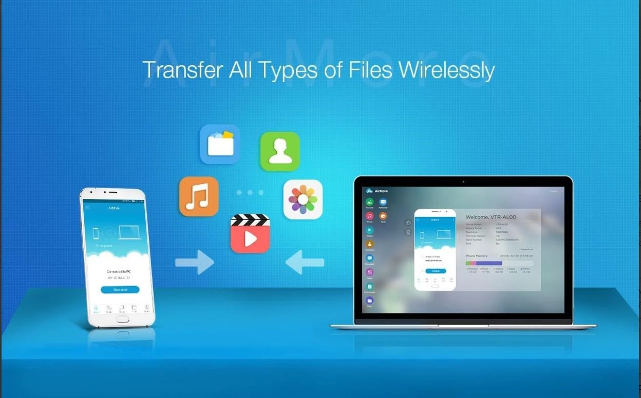 AirMore- File Transfer App