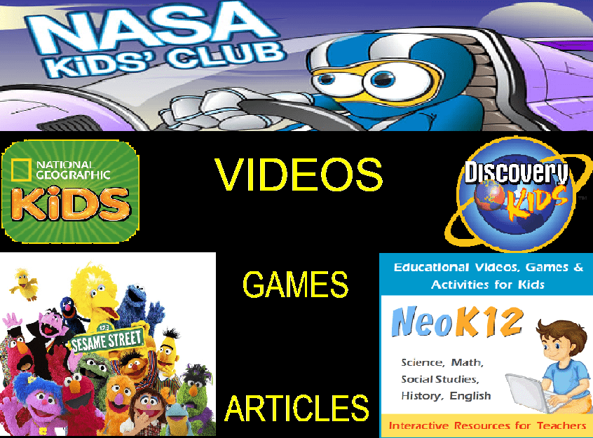 All in One Websites for Kids