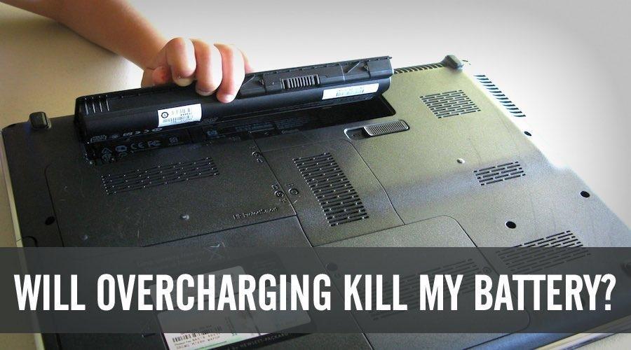 Avoid Overcharging of Laptop Battery