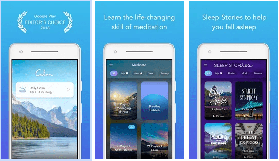 Calm - Meditation Apps to Meditate, Sleep, Relax