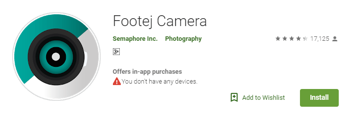 Footej Camera - GIF creator apps for android