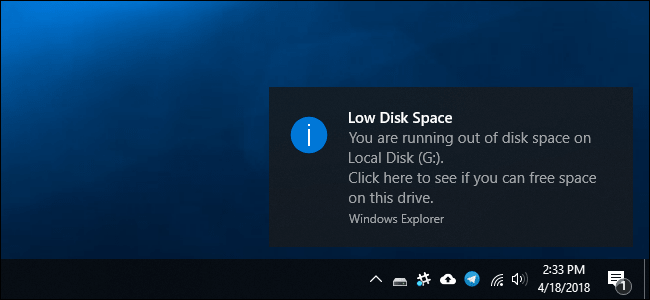 Free up Disk Space on Windows