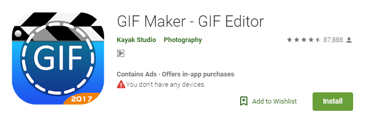GIF Maker - GIF creator apps for android
