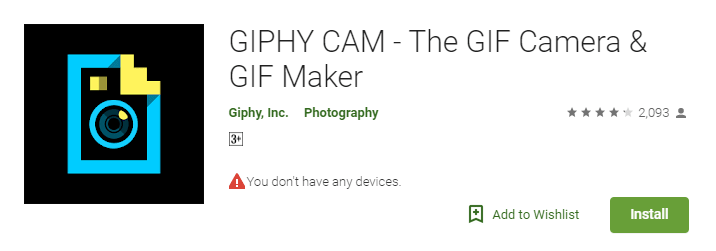 Giphy Cam - GIF Maker for android